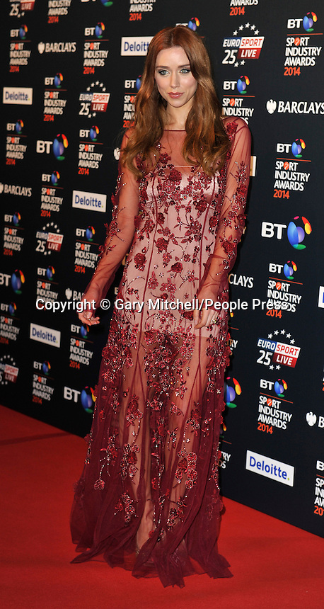 Una Foden attends the BT Sport Industry Awards at Battersea Evolution on May 8, 2014 in London, England