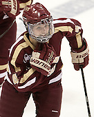 Melissa Bizzari (BC - 4) - The Northeastern University Huskies defeated Boston College Eagles 4-3 to repeat as Beanpot champions on Tuesday, February 12, 2013, at Matthews Arena in Boston, Massachusetts.