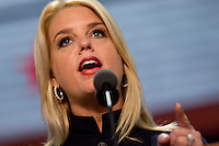 Florida Attorney General Pam Bondi speaks during the Republican National Convention