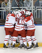 - The University of New Hampshire Wildcats defeated the Miami University RedHawks 3-1 (EN) in their NCAA Northeast Regional Semi-Final on Saturday, March 26, 2011, at Verizon Wireless Arena in Manchester, New Hampshire.