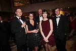 CIPR Cymru 2012.Andy Pearson, Sara Robinson, Alan Morris,.Rhian Moore & Adam Wheeler.Cardiff Hilton.19.10.12.©Steve Pope