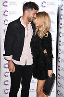 Jake Quickenden and Danielle Fogarty arriving at James Ingham&rsquo;s Jog On to Cancer, in aid of Cancer Research UK at The Roof Gardens in Kensington, London.  <br /> 12 April  2017<br /> Picture: Steve Vas/Featureflash/SilverHub 0208 004 5359 sales@silverhubmedia.com