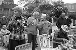 Silver Jubilee Street Party 1977 UK. Hampstead  north London.<br /> <br /> My ref 22/2066/,1977,