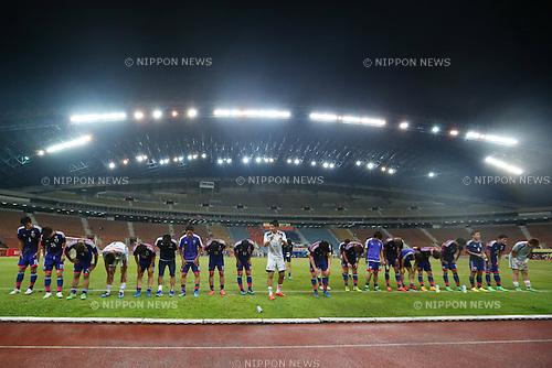 U-22U-22 Japan team group (JPN), MARCH 29, 2015 - Football / Soccer : AFC U-23 Championship 2016 Qualification Group I match between U-22 Japan 2-0 U-22 Vietnam at Shah Alam Stadium in Shah Alam, Malaysia. (Photo by Sho Tamura/AFLO SPORT)