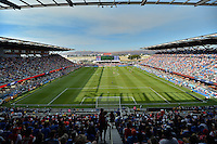 San Jose, CA - Thursday July 28, 2016: General view during a Major League Soccer All-Star Game match between MLS All-Stars and Arsenal FC at Avaya Stadium.