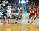 "Ole Miss' LaDarius White (10) vs. Arkansas at the C.M. ""Tad"" Smith Coliseum in Oxford, Miss. on Saturday, January 19, 2013. Mississippi won 76-64. (AP Photo/Oxford Eagle, Bruce Newman)"