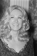 January 27th 1971, Washington DC, <br /> Joan Kennedy the wife of Senator Edward Kennedy at Spanish Embassy in Washington.