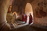 Young monks, Bagan, Myanmar