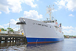 R/V Cape Hatteras at dock