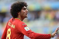 FUSSBALL WM 2014  VORRUNDE    Gruppe H     Belgien - Algerien                       17.06.2014 Marouane Fellaini (Belgien)