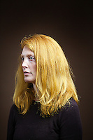 Rebecca McKay, 33, stay at home mum, from Perth.<br /> <br /> At the library people come up and say You must hear this all the time but I have to say. I lived in Colombia for a year and people thought my hair was dyed.'<br /> <br /> 'I am one of five and all have it but not as bright as mine. It's not sought after or admired. There is an Irn Bru advert where they are shouting at red-hairs kids and she drinks it with the slogan Irn Bru gets you through! I think my four daughters are wonderful as God made them and I am content with what God has given them.'