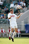 Maryland's Kenney Bertz on Wednesday, November 9th, 2005 at SAS Stadium in Cary, North Carolina. The University of Maryland Terrapins defeated the Wake Forest University Demon Deacons 2-1 during their Atlantic Coast Conference Tournament Quarterfinal game.