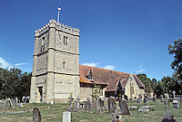 Warborough: St. Laurence's Parish Church. Gothic style. Graveyard. Photo '05.