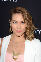 LOS ANGELES, CA - AUGUST 4: Allison Holker at the 4Moms launch of the world's first self-installing car seat at Petersen Automotive Museum in Los Angeles, California on August 4, 2016. Credit: David Edwards/MediaPunch