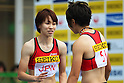 (L to R) Chisato Fukushima (JPN), Momoko Takahashi (JPN), .MAY 6, 2012 - Athletics : .SEIKO Golden Grand Prix in Kawasaki, Women's 4100m Relay .at Kawasaki Todoroki Stadium, Kanagawa, Japan. .(Photo by Daiju Kitamura/AFLO SPORT) [1045]