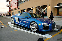 Toronto, ON, Canada - Saturday Dec. 10, 2016: Audi R8 V10 plus prior to the MLS Cup finals at BMO Field. The Seattle Sounders FC defeated Toronto FC on penalty kicks after playing a scoreless game.