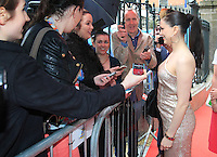 03/06/2014  <br /> Imelda May<br /> during the Pride of Ireland awards at the Mansion House, Dublin.<br /> Photo: Gareth Chaney Collins