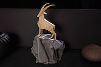 The Sentinel II, opus 627 designed and folded by Robert Lang, California, USA.
