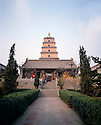 BB01700-01...CHINA - The Great Wild Goose Pagoda in Xi'an.