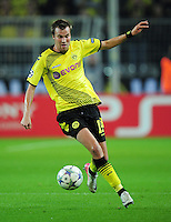 FUSSBALL   CHAMPIONS LEAGUE   SAISON 2011/2012  Borussia Dortmund - Arsenal London        13.09.2001 Kevin GROSSKREUTZ (Borussia Dortmund) Einzelaktion am Ball
