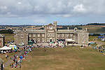 Pendennis Castle in Falmouth, Cornwall, England, 2013 - EDITORIAL USE ONLY