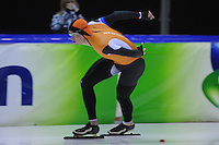 Olympische testwedstrijd Thialf 010214