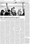 Die Tageszeitung, Germany - November 21, 2008