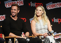 NEW YORK, NY-October 07:William Levy, Ali Larter at ComicCon 2016: Resident Evil: The Final Chapter panel at Madison Square Garden in New York.October 07, 2016. Credit:RW/MediaPunch