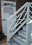 University Virginia stairs and door Charlottesville Commonwealth of Virginia,