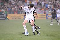 AC Milan forward Filippo Inzaghi (9)   DC United defeated AC. Milan 3-2 at RFK Stadium, Wednesday May 26, 2010.