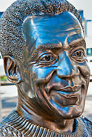 Bill Cosby, Performer, Academy of Television Arts & Sciences, Celebrity, Bronze, Sculptures, Sculptural Works, Public Art, Display, North Hollywood, CA