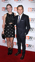 NEW YORK, NY-October 01:Mikhail Baryshnikov, Anna Baryshnikov at 54th New York Film Festival screening of Manchesyer by the Sea  at Alice Tully Hall at Lincoln Center in New York. October 01, 2016. Credit:RW/MediaPunch