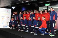 SCHAATSEN: HEERENVEEN: IJsstadion Thialf, 01-11-2012, Presentatie Friese schaatsselectie, ©foto Martin de Jong