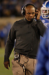Coach Joker Phillips during the first half of the UK Football game v. Samford at Commonwealth Stadium in Lexington, Ky., on Saturday, November 17, 2012. Photo by Genevieve Adams | Staff
