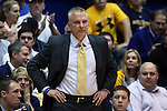 29 December 2014: Toledo head coach Tod Kowalczyk. The Duke University Blue Devils hosted the University of Toledo Rockets at Cameron Indoor Stadium in Durham, North Carolina in a 2014-16 NCAA Men's Basketball Division I game. Duke won the game 86-69.