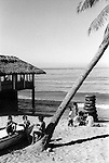 Beach cafe bar Mazatlan Mexico 1973.