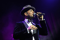 JAN 25 Matt Goss performing at the London Palladium