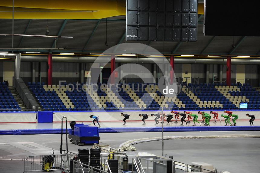 SCHAATSEN: HEERENVEEN: IJsstadion Thialf, 11-07-2013, Training zomerijs, ©foto Martin de Jong