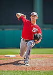 21 March 2015: Washington pitcher Bruce Billings on the mound during a Spring Training Split Squad game against the Atlanta Braves at Champion Stadium at the ESPN Wide World of Sports Complex in Kissimmee, Florida. The Braves defeated the Nationals 5-2 in Grapefruit League play. Mandatory Credit: Ed Wolfstein Photo *** RAW (NEF) Image File Available ***