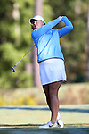 16 October 2016: UNC's Kelly Whaley. The Final Round of the 2016 Ruth's Chris Tar Heel Invitational NCAA Women's Golf Tournament hosted by the University of North Carolina Tar Heels was held at the UNC Finley Golf Club in Chapel Hill, North Carolina.