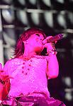 """Mexico (30.03.2006) Mexican singer Alejandra Guzman sings a song of her new album """"Indeleble"""" (Indelible) during a concert at the Mexico City's Hard Rock Cafe, March 30, 2006. Mexico (30.03.2006) La cantante mexicana Alejandra Guzman canta una cancion de su nuevo CD """"Indeleble"""" durante un concierto en el Hard Rock Cafe de la ciudad de Mexico... Photo by  © Javier Rodriguez"""