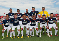 07 August 2010: Chivas USA  starting eleven during a game between Chivas USA and Toronto FC at BMO Field in Toronto..Toronto FC won 2-1.