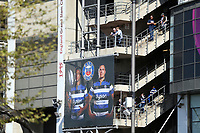 A general view of supporters enjoying the atmosphere. The Clash, Aviva Premiership match, between Bath Rugby and Leicester Tigers on April 8, 2017 at Twickenham Stadium in London, England. Photo by: Rogan Thomson / JMP for Onside Images