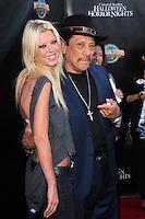 Tara Reid, Danny Trejo<br /> Universal Studio's Halloween Horror Nights 2014 Eyegore Award, Universal Studios, Universal City, CA 09-19-14<br /> David Edwards/DailyCeleb.com 818-249-4998