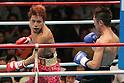 (L-R) Noriyuki Komatsu, Daisuke Naito (JPN), JUNE 27, 2006 - Boxing : Noriyuki Komatsu of Japan in action against Daisuke Naito of Japan during the OPBF and Japanese flyweight titles bout at Korakuen Hall in Tokyo, Japan. (Photo by Hiroaki Yamaguchi/AFLO)