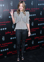 WEST HOLLYWOOD, CA, USA - SEPTEMBER 21: Kiele Sanchez arrives at the John Varvatos #PeaceRocks Ringo Starr Private Concert held at the John Varvatos Boutique on September 21, 2014 in West Hollywood, California, United States. (Photo by Xavier Collin/Celebrity Monitor)