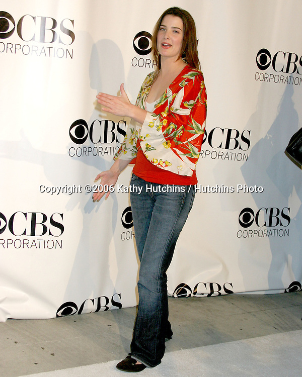 Cobie Smulders.CBS TV TCA Party.The Wind Tunnel.Pasadena, CA.January 18, 2006.©2006 Kathy Hutchins / Hutchins Photo....