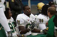 24 November 2007: George Selvie (95)..The South Florida Bulls defeated the Pitt Panthers 48-37 on November 24, 2007 at Heinz Field, Pittsburgh, Pennsylvania.