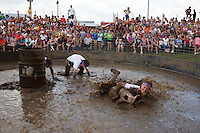 Hog Wrasslin'. Viroqua, Wisconsin.