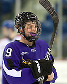 Zach Lehrke (Mankato - 19) - The visiting Minnesota State University-Mankato Mavericks defeated the University of Massachusetts-Lowell River Hawks 3-2 on Saturday, November 27, 2010, at Tsongas Arena in Lowell, Massachusetts.